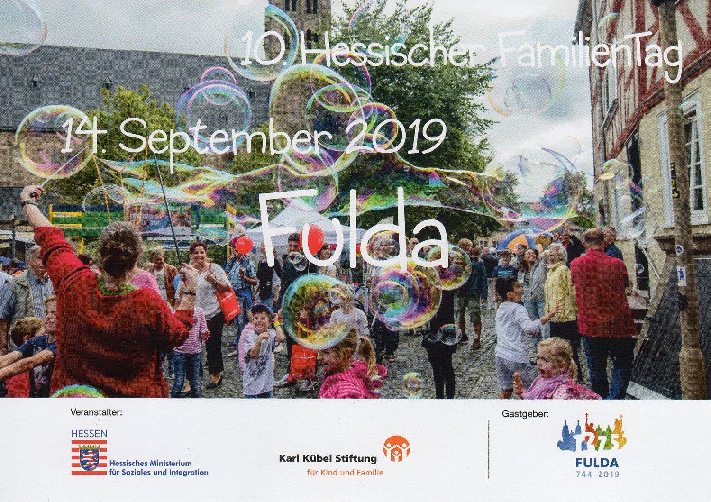 Hessischer Familientag in Fulda am 14.9.2019