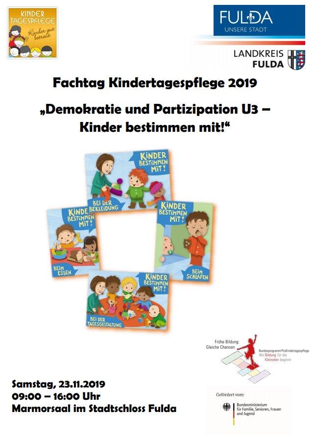 Fachtag Kindertagespflege am 23.11.2019